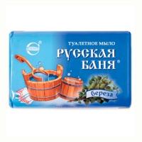 Мыло туалетное Русская баня береза 100гр 1988