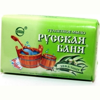 Мыло туалетное Русская баня эквалипт 100гр 1926