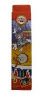 Карандаши цветные 6шт Tom&Jerry