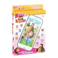 Телефон интерактивный Маша и Медведь 6813 6812