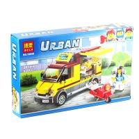 Конструктор Bela Urban Фургон-Пиццерия 261 эл  10648