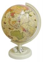 Глобус d 32см политический под старину с подсветкой