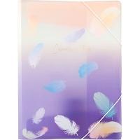 Папка на резинке А4 Colourful Feather 02 1507-92-А