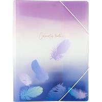 Папка на резинке А4 Colourful Feather 03 1507-93-А