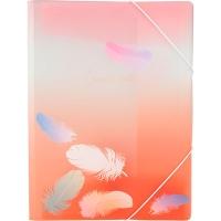 Папка на резинке А4 Colourful Feather 04 1507-94-А