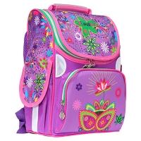 Рюкзак 2 отделения Rainbow Flower 34*26*13см 300D PL 9-506