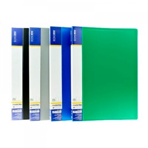 Папка А4 с 30 файлами Economix ассорти E30603
