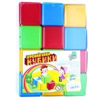 Кубики цветные 12шт M.toys 05062