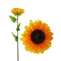 """Цветы искусственные """"Подсолнух большой""""1-290 (0113)"""