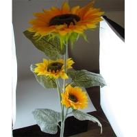 """Цветы искусственные """"Подсолнух большой 3 цветка """" 1-291 (0113)"""