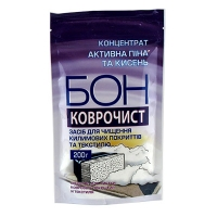 Средство для чистки ковров и текстиля Бон 200г 867