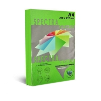 Бумага цветная А4 500л интенсив Sinar Spectra 80 г/м2 Parrot 230