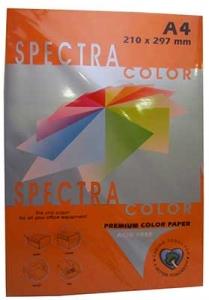 Бумага цветная А4 500л интенсив Sinar Spectra 80 г/м2 Saffron 240