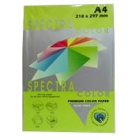 Бумага цветная А4 500л неон Sinar Spectra 75 г/м2 HP Green 321
