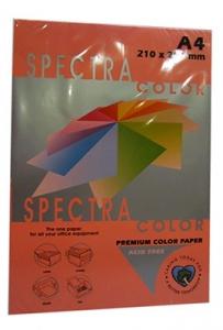 Бумага цветная А4 500л неон Sinar Spectrа 75 г/м2 HP Pink 342