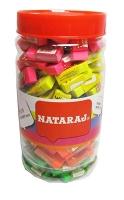 Ластик Nataraj Neon Mini 150шт в банке 202311002 (цена за шт)