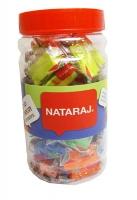 Ластик Nataraj Trio Neon Triangle 40шт в банке 202362006