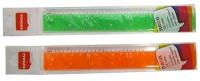 Линейка пластиковая 18см Nataraj Neon 204462001