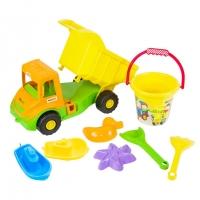 Набор для песка 8эл с грузовиком Multi truck Tigres 39204