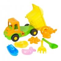 Набор для песка 8эл с грузовиком Multi truck с лейкой Tigres 39206