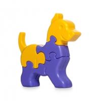 Пазлы 3D Животные в пакете 8ел 1шт Tigres 39385