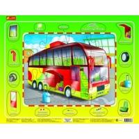 "Пазлы на планшете ""Автобус"" 6334-5 Ранок  (7967)"