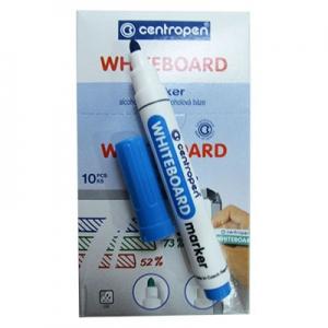 Маркер для досок круглий голубой Centropen 8559