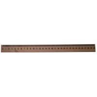 Линейка деревянная шелкография 30см уп100 шт Ц351004У