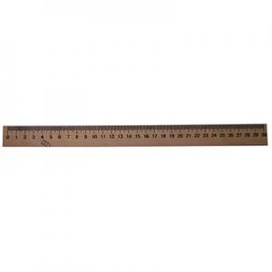 Линейка деревянная шелкография 30см уп100 шт Ц351004У ЛК-006-МВ