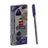 Ручка шариковая фиолетовая 1.0мм TRI-TECH CELLO   CL1003 3-534