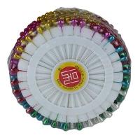 Булавки цветные 360шт 5см цена за упак 10-302 (24806)