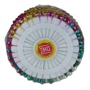 АКЦИЯ Булавки цветные 360шт 5см цена за упак 10-302 (24806)