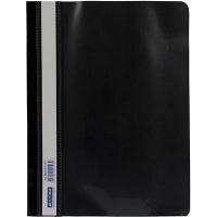 Скоросшиватель А5 BUROMAX пластиковый черный ВМ-3312-01
