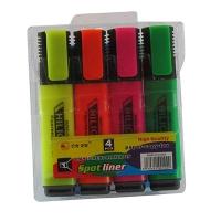 Набор текстовых маркеров 4 цвета 5-927 10-549  3-402  21515