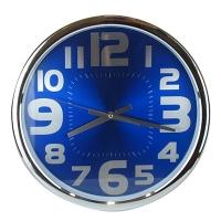 Часы Цифры большие на цветном фоне 10-606 (18437)