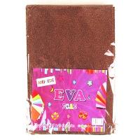 Фоамиран для творчества махра коричневый 10л 9-76 (22224)