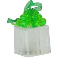 Новогодняя подвеска Подарок 6,5*4,5см пластик 90706-PN