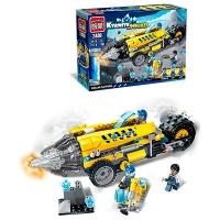 """Конструктор """"Brick"""" 2409 SQUAD (18шт) 238дет. 6+лет в кор. 35*25*6,5см 7 toys"""