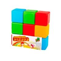 Кубики цветные 9шт M.toys 05061
