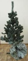 Искусственная елка голубая 1,3м