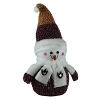 Новогодние украшения Снеговик в шубе 44см микс 92251-PN
