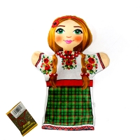 Мягкая игрушка рукавичка Украинка 00633-10