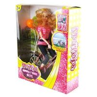 Кукла Барби  на велосипеде 628