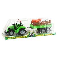 Трактор  прицеп с домашними животными 17-3