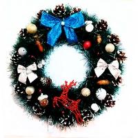 Рождественский венок новогодний