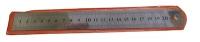 Линейка металлическая в чехле 25см (8-117);10-3 (23985)