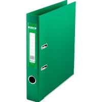 Папка регистратор А4 Jobmax LUX 50мм зеленая сборная BM.3012-04c