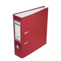 Папка регистратор А4 Jobmax LUX 70мм бордовая собранная BM.3011-13c
