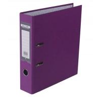 Папка регистратор А4 Jobmax LUX 70мм сиреневая собранная BM.3011-26c