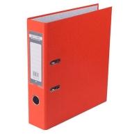 Папка регистратор А4 Jobmax LUX 70мм оранжевая собранная BM.3011-11c